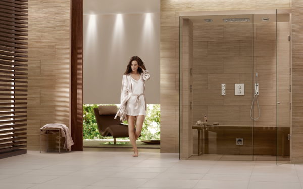 Grohe rainshower natural colors